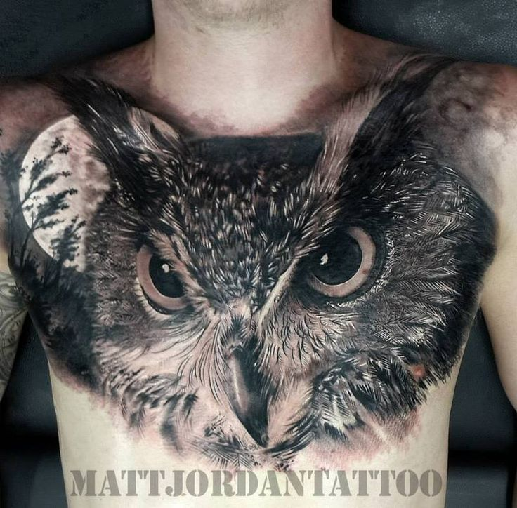 61 Jaw Dropping Chest Tattoos Meaning: 25+ Best Ideas About Realistic Owl Tattoo On Pinterest