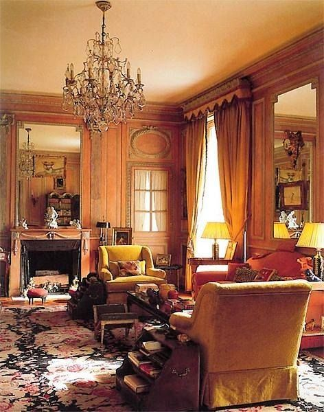 Sitting room of the Duke and Duchess of Windsor, Paris