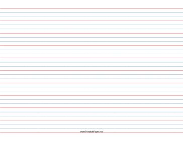 dotted line writing paper
