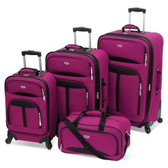 4 piece Spinner luggage set