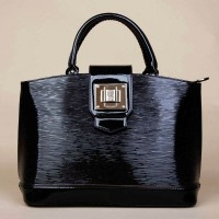 Women Designer Hand-held Bag With Smooth Leather Top Handle