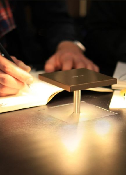 Amazing Desk Light! Sits Flush with Desk Top until pressed! Must Integrate into The Plum Coco Desk!