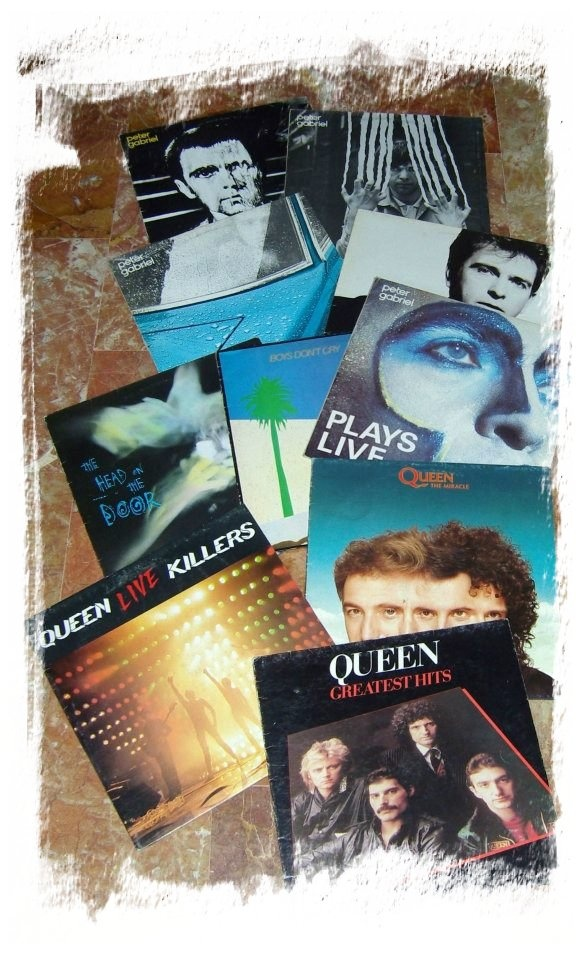 Peter Gabriel, Queen, The Cure