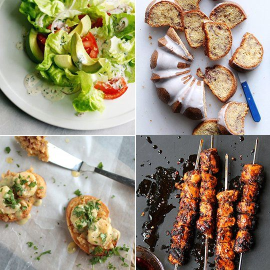 Blueberry Bundt Cake & Chicken Kebabs — Delicious Links