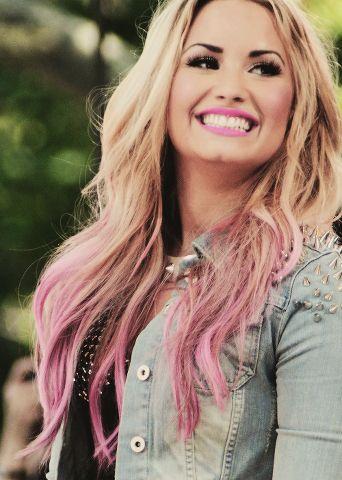 Demi Lovato. Ugh I love her