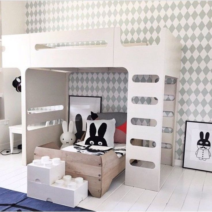 Attractive Childrenu0027s Room With F Bunk Bed From Rafa Kids Idea