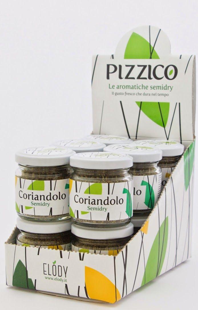 Pizzico: le aromatiche semidry. La nuova linea di prodotti Elody   #Coriandolo #Elody #Erbe