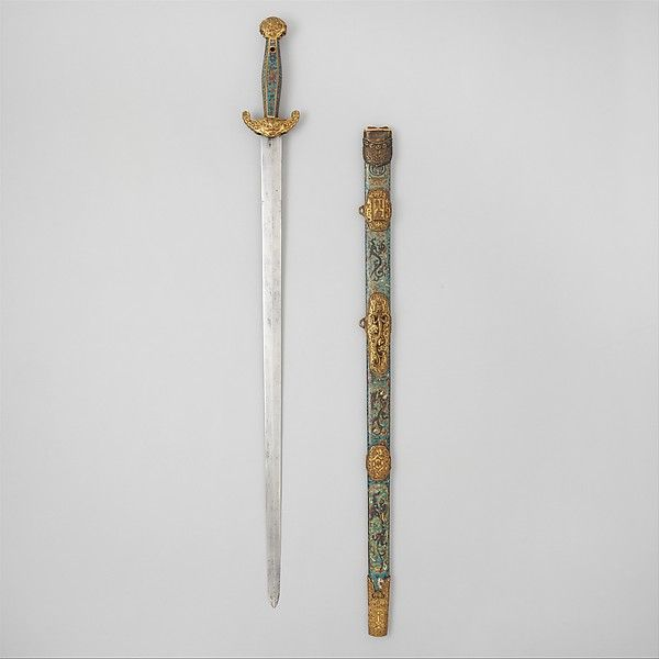 Sword with Scabbard, 17th century. Chinese. The Metropolitan Museum of Art, New York. Bequest of George C. Stone, 1935 (36.25.1482a, b)
