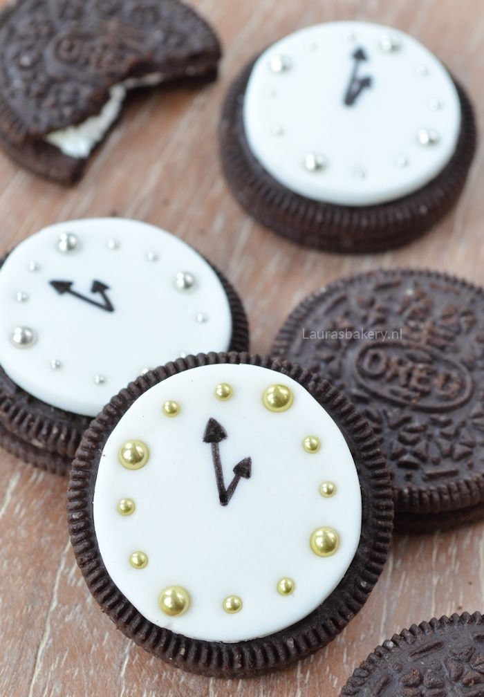 Oreo clocks - Oreo klokken - Laura's Bakery