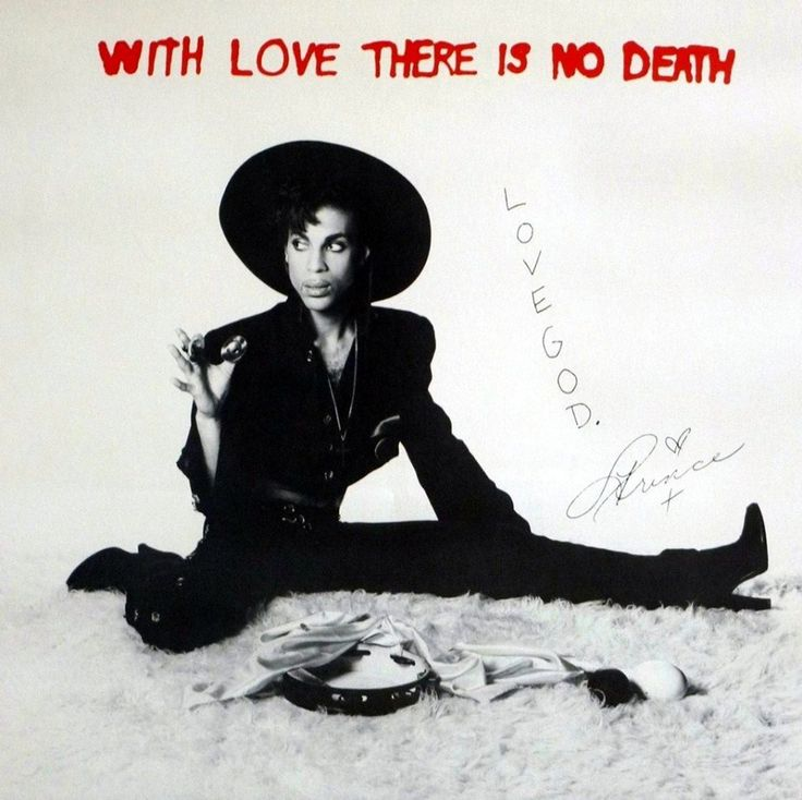 #Prince #musicians With love there is no Death