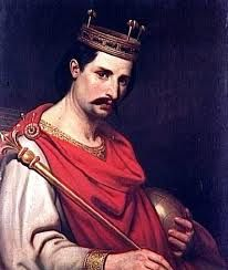 Charles the Bald King of France 823 - 877, son of Louis the Pious and Judith of Bavaria.Married to Emmentrude of Orleans. Father of Judith of Flanders and Louis II The Stammerer. _____________________________37th GGF
