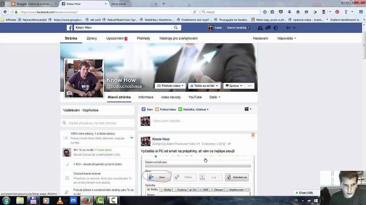 Facebook stránka jak nastavit omezení pro určity region a zobrazení sezn...