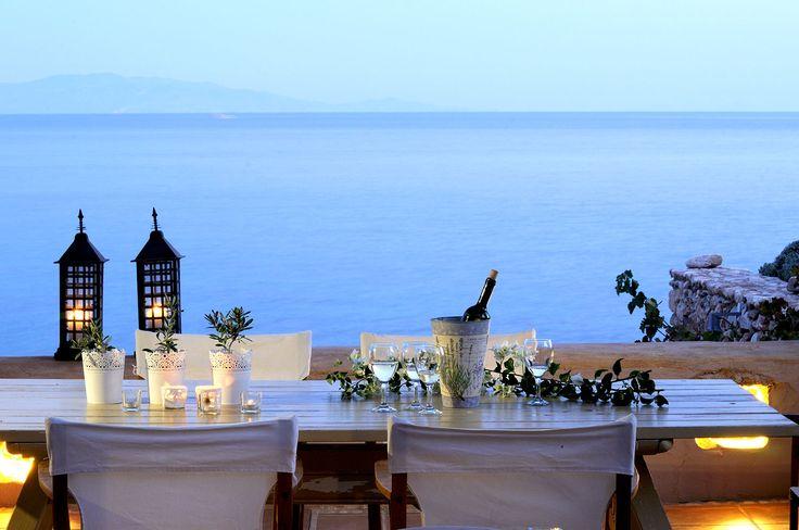 Luxury villas by the Aegean Sea! Makria Miti Estates - Paros, Greece  www.makriamiti.com