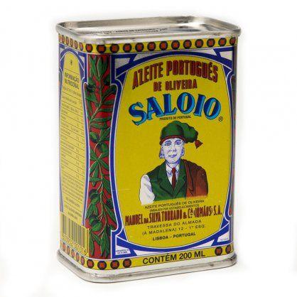 Comprar Azeite Saloio 200ml. - Lata pequena de azeite português