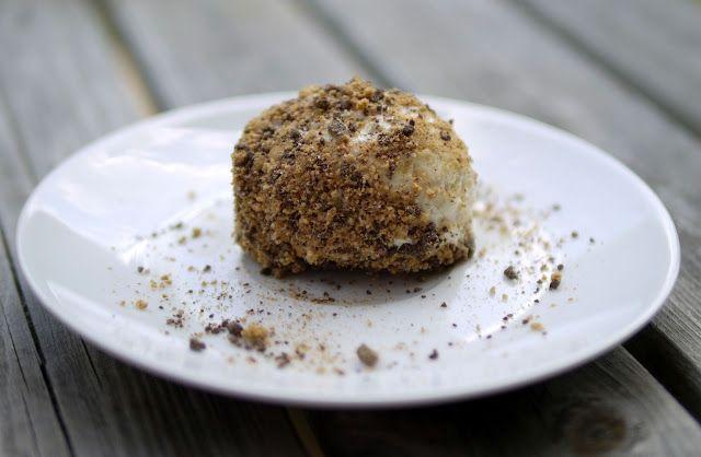 Experimente aus meiner Küche: Mandel-Giotto-Eis mit Milchmädchen