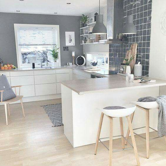 30 best K I T C H E N images on Pinterest Kitchen, Architecture - Küchen Weiß Hochglanz