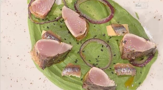 Ricette di Gianfranco Pascucci: tataki di palamita