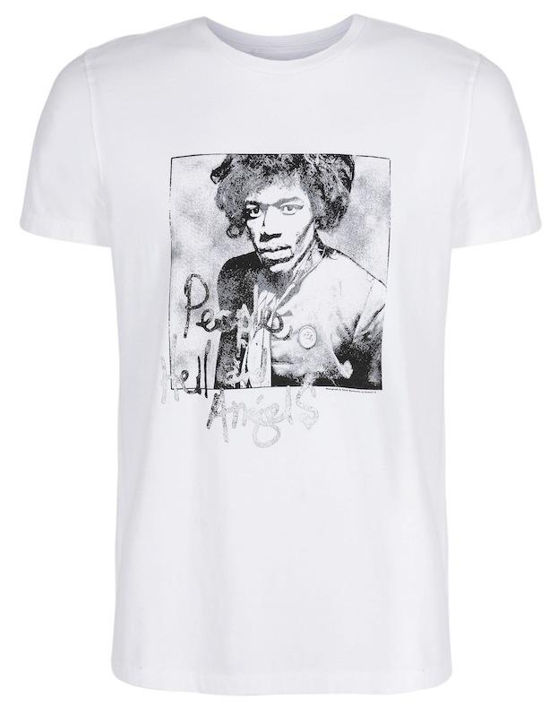 ギャップ、故ジミ・ヘンドリックス生誕70周年Tシャツ発表   Fashionsnap.com