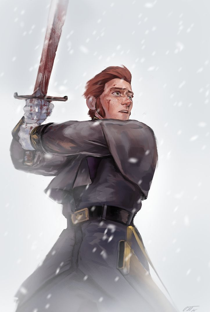 Is it just me or does he look sad and regretful?<-- he looks like a douchbag. And this was probably made by a hans apoligist
