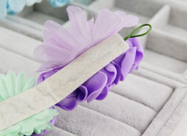 Невеста аксессуары к свадебные hairbands 3 цветов цветы hairwear гало ручной мягкие волосы хлопки 2014 новое поступление стиль купить на AliExpress