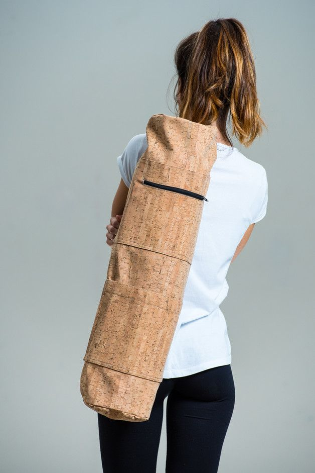 Gym Bags – Cork yoga mat bag – a unique product by lovecuts on DaWanda