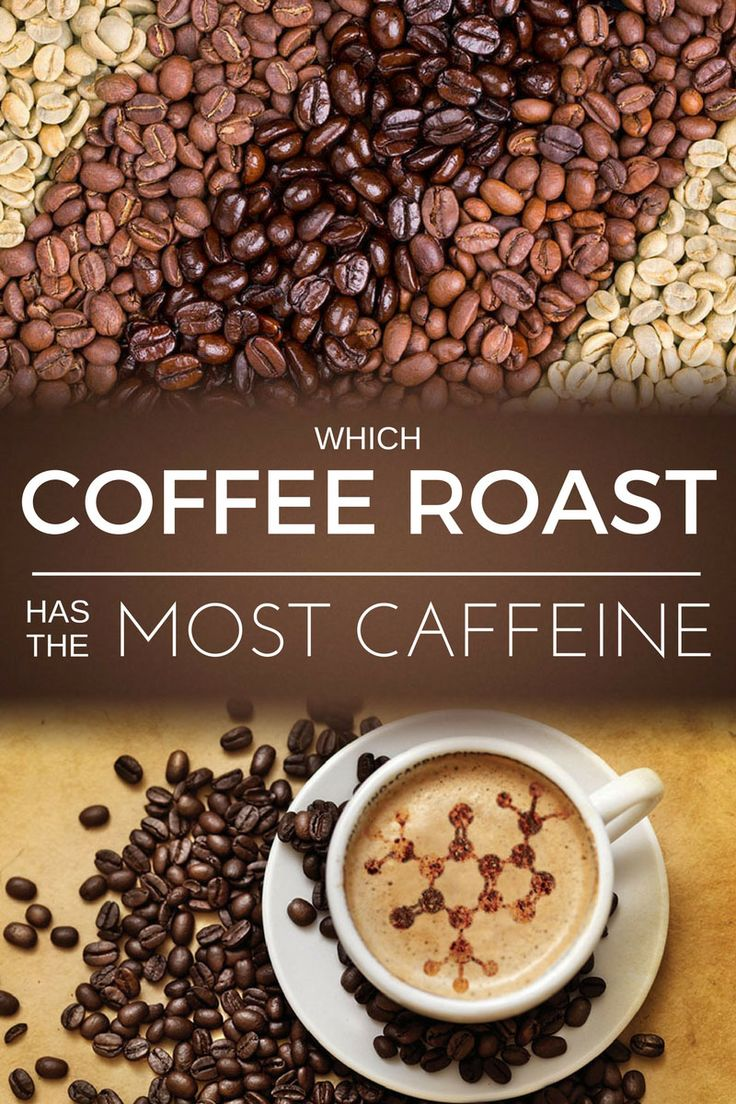 Which of these gives you more energy per cup? Is it the light or dark roast? Discover which coffee roast has the most caffeine.