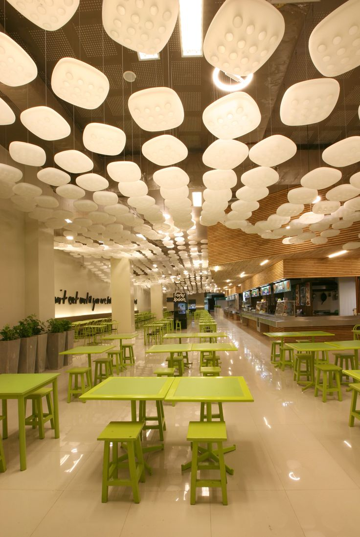 mall food court, pinned by Ton van der Veer
