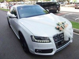 Wedding Car Decorations Without Helpers