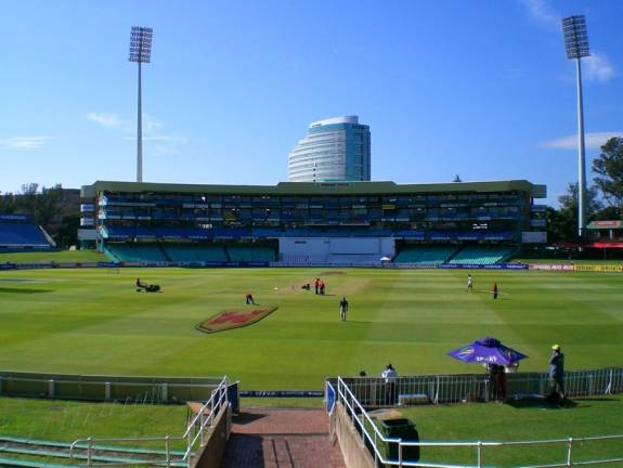 Kingsmead, Durban. Home of the KZN Dolphins.