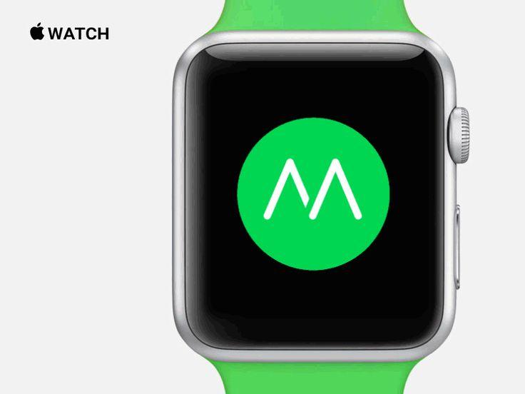 Collection d'interfaces et d'éléments UI Apple Watch