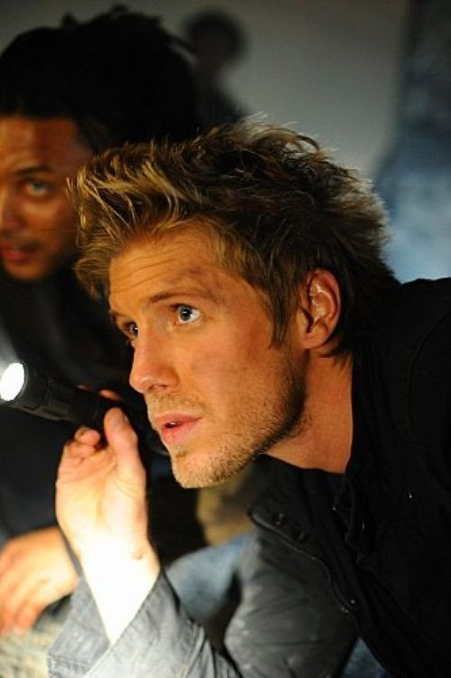 Matt Barr. he's HOT.