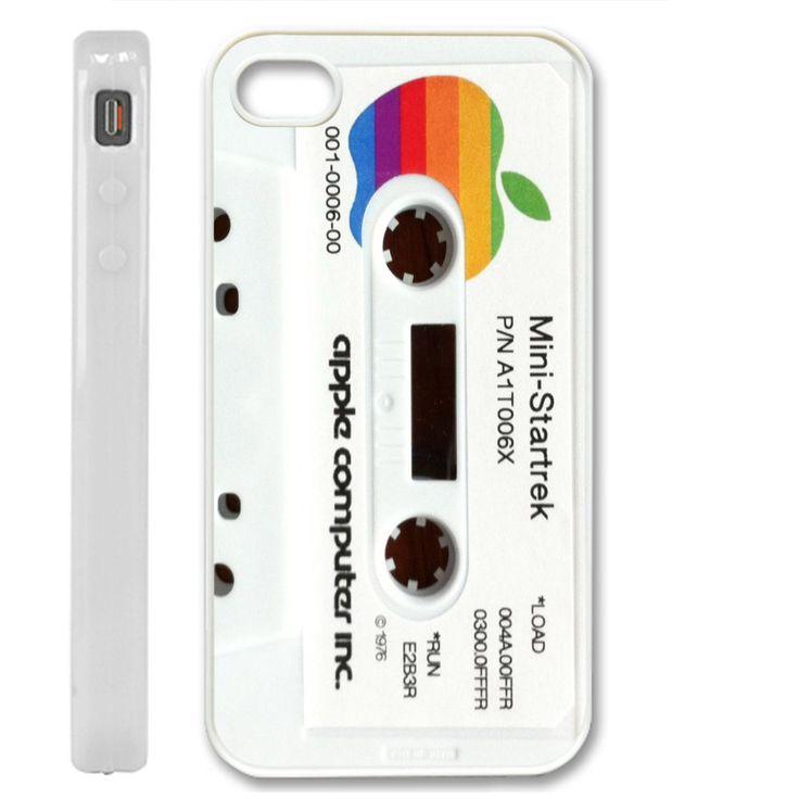 Star Trek Apple Cassette - white for iphone