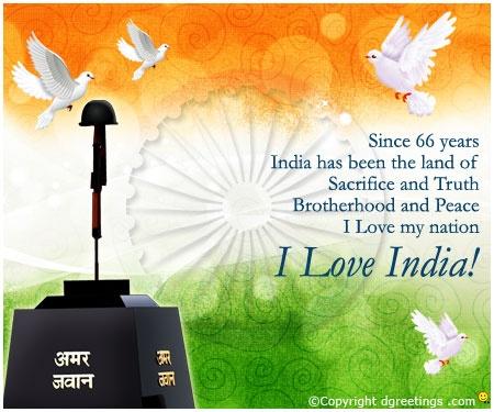 Dgreetings...    I Love India!