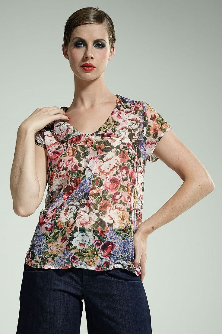 Thrive Women - Silk Lily Top - Thrive Clothing
