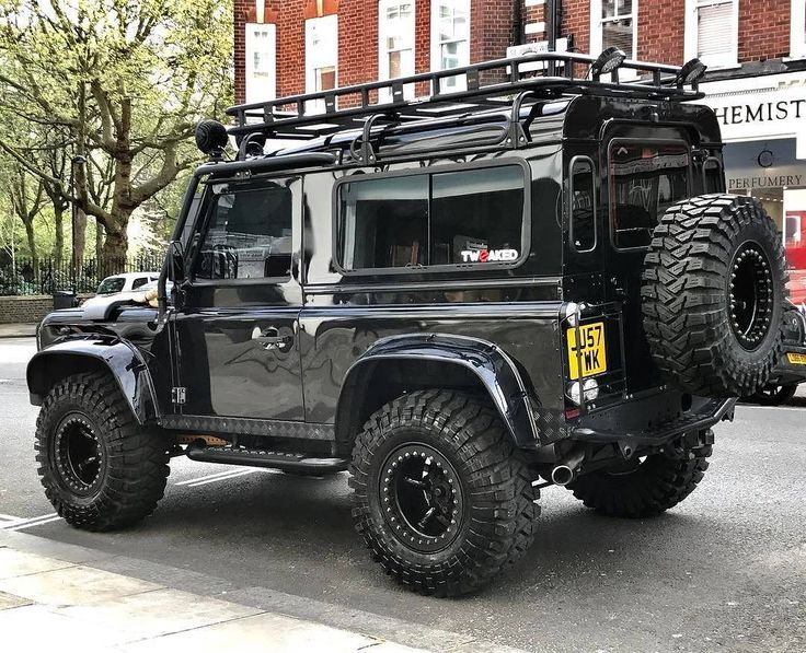 "2,994 Likes, 7 Comments - @landroverphotoalbum on Instagram: ""The @tweakedautomotive Defender 90 Spectre Edition. #landrover #Defender90 #landroverdefender…"""