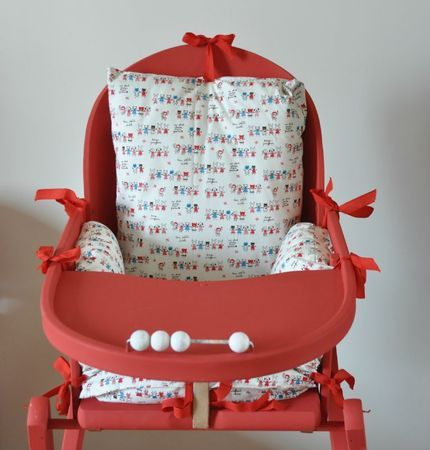Housse de chaise haute baby love pinterest for Baby to love chaise nomade