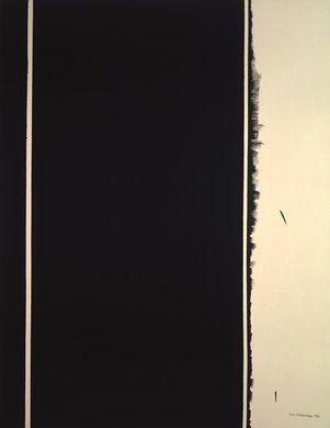 Barnett Newman, 12th Station, c 1965.  Art Experience NYC  www.artexperiencenyc.com/social_login/?utm_source=pinterest_medium=pins_content=pinterest_pins_campaign=pinterest_initial