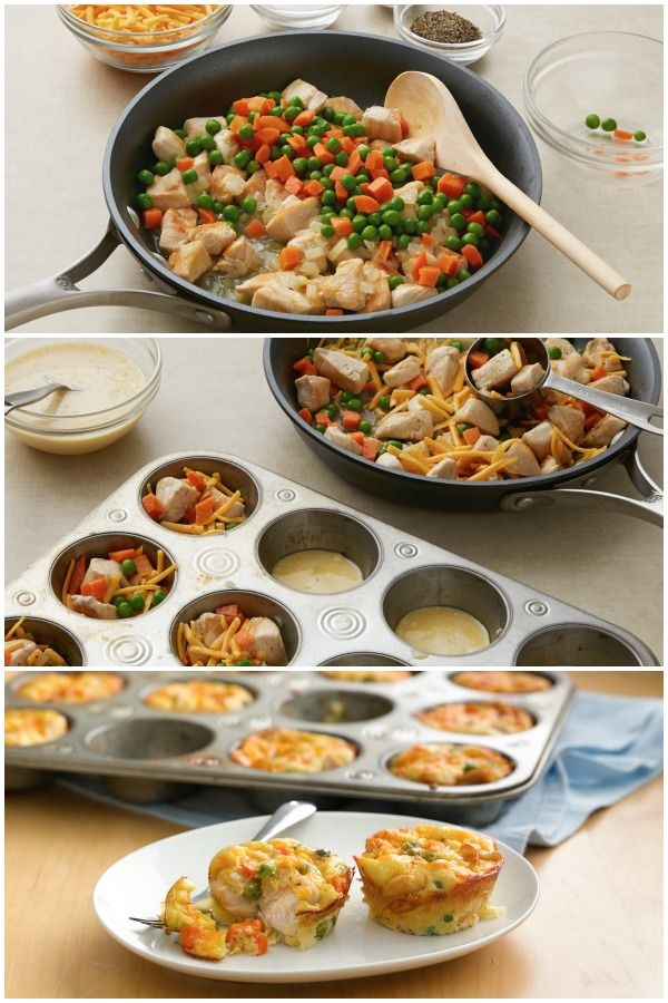 Pot pies, Easy dinners and Chicken pot pies on Pinterest