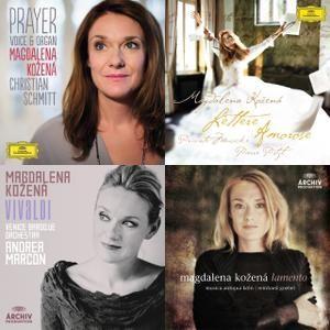 Magdalena Kozena - 4 FULL albums (Voice &Organ 2014, Lettere amorose 2010, Vivaldi 2009, Lamento 2005) #Spotify