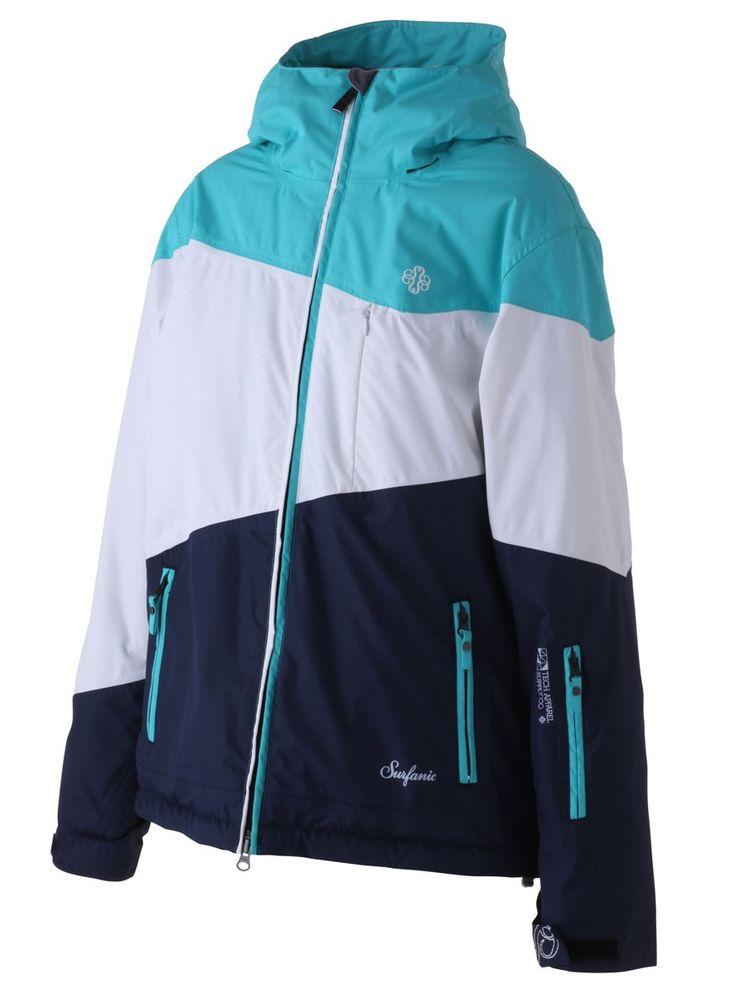 Surfanic Turquoise Eldora Surftex Womens Ski Jacket | Ski & Snowboarding