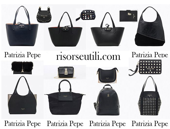 Bags Patrizia Pepe fall winter 2017 2018 new arrivals