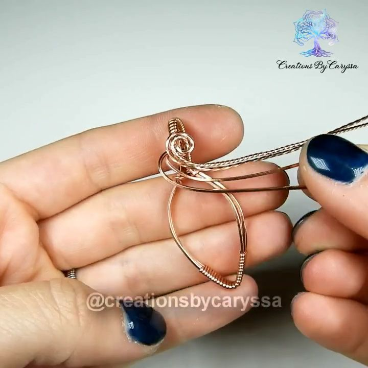 How do I wrap this pendant with wire   – schmuck