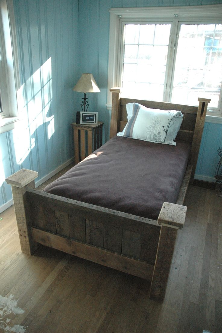 109 best reclaimed wood bed images on pinterest beds bed base and