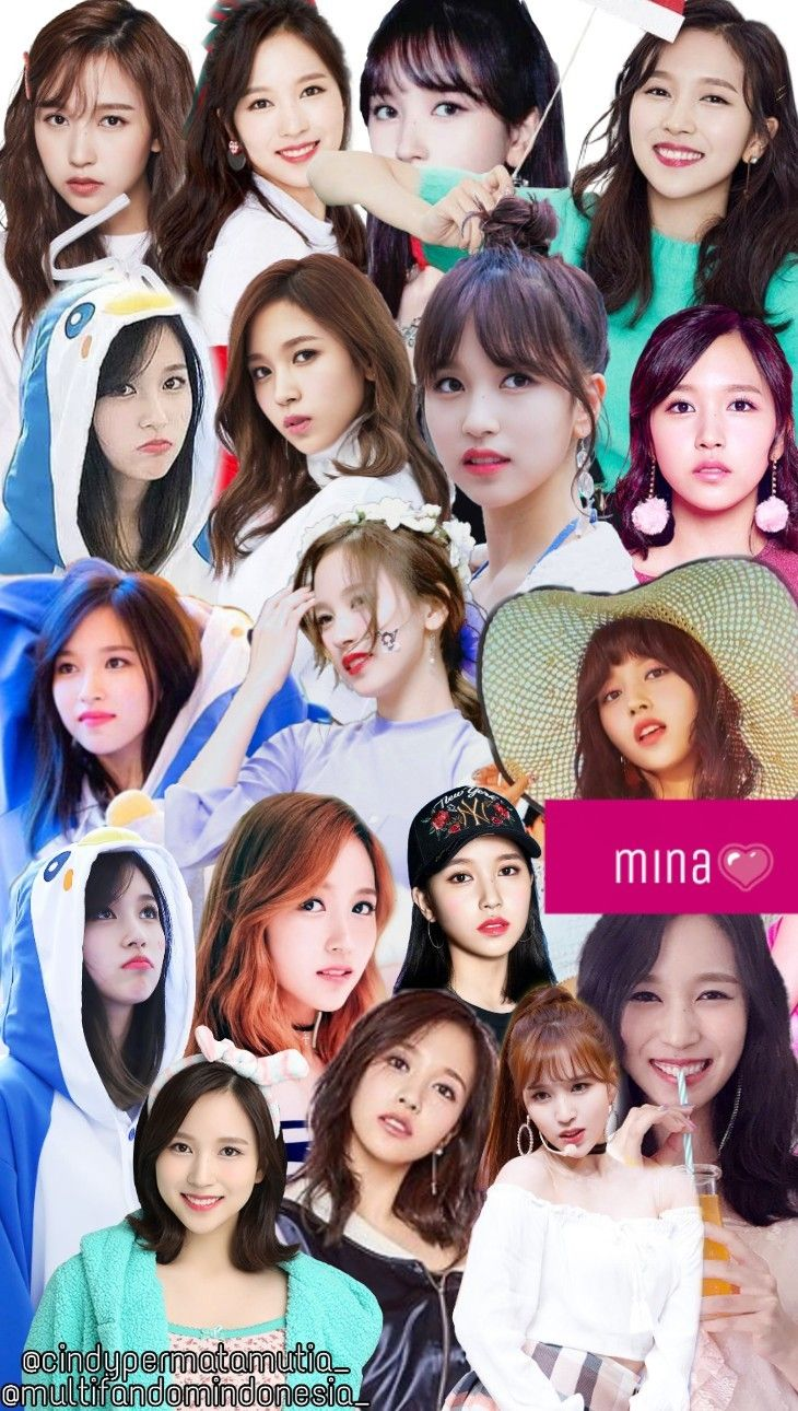 Wallpaper Lockscreen Twice Mina Kpop Girls Mina Twice