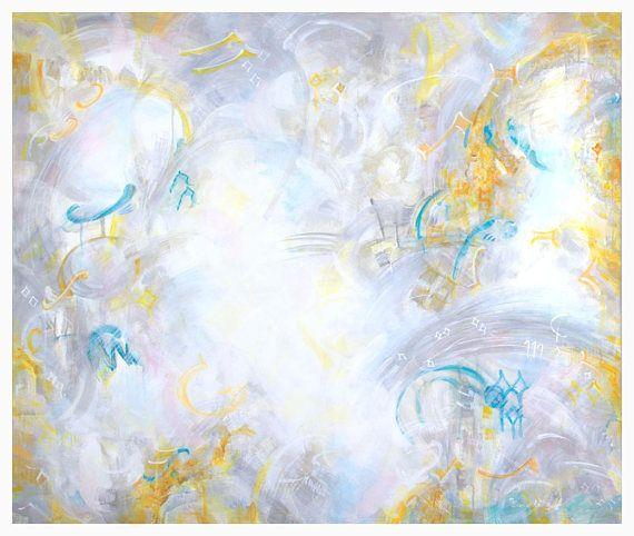 Abstract PaintingWall Art Giclée Abstract Art Print