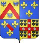 Armes d'Henri III de La Trémoille. Le 18 juillet 1628 Henri abjure le protestantisme devant le cardinal de Richelieu lors du siège de La Rochelle considérant que le seul recours résidait en Louis XIII. Il favorise l'implantation d'ordres catholiques à Thouars: Ursulines en 1632, Clairettes en 1652. Mais il ne cherche pas à obliger son épouse à se convertir ni à interdire le culte protestant dans ses possessions. Louis XIII lui accorde la charge de Maître de camp général de la Cavalerie…