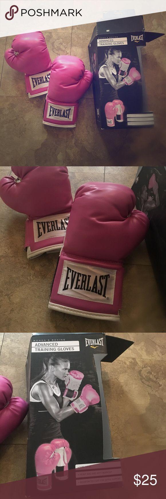 Everlast pink boxing gloves women's NEW Brand new in box, never been worn. Hot pink boxing gloves! By everlast. everlast Other