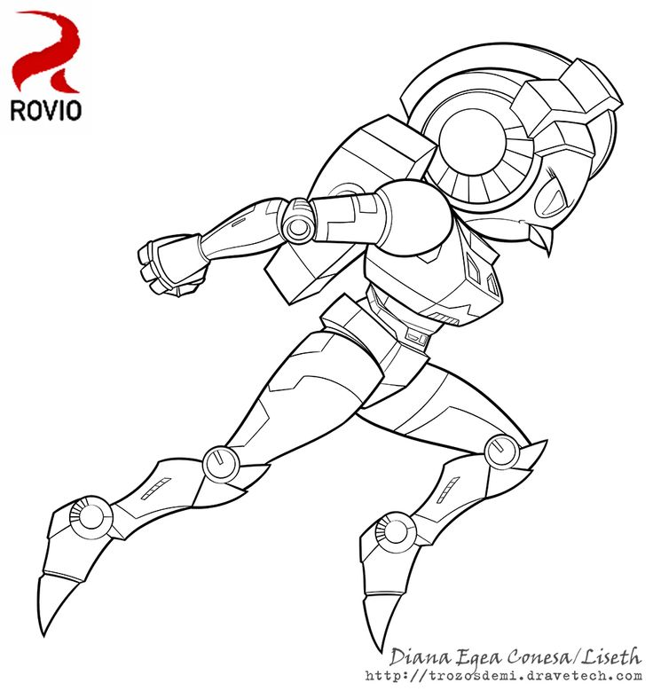 coloring pages angry birds transformers - photo#3