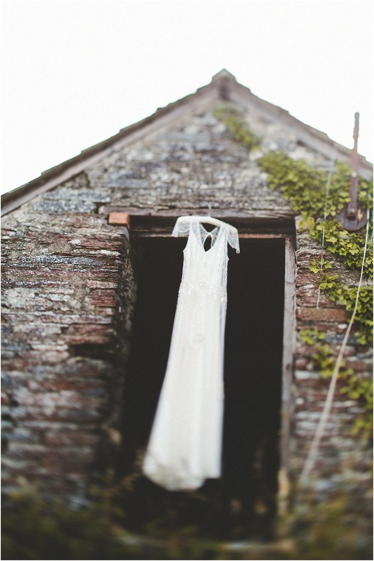 Jennie Packham Dress | artistic wedding photography | daring | stunning | gorgeous.   The bride was freaking out when I hung this.