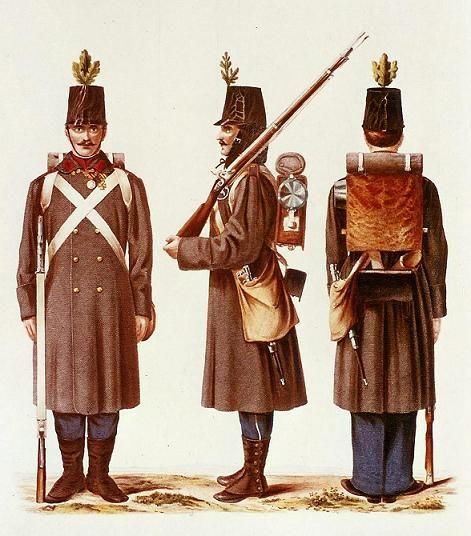 infanterie allemande en capote